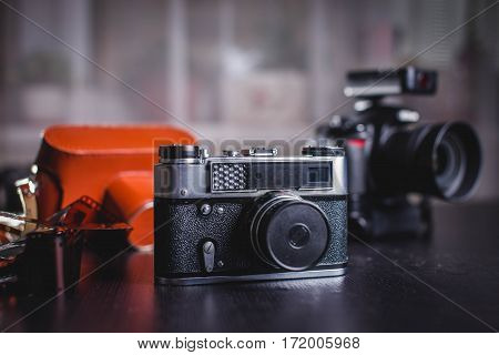 Film and Old film camera produced in the Ukraine, Felix Dzerzhinsky