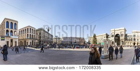 People Visit The Central Town Square With Its Landmarks²