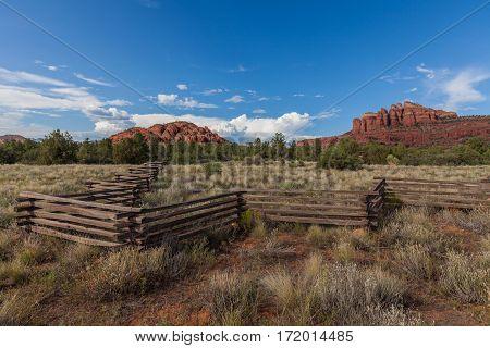 the scenic red rock landscape of Sedona Arizona
