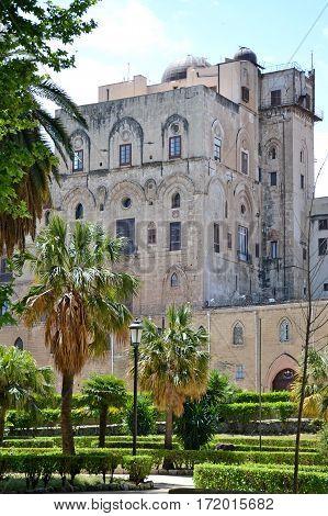 Centro storico della città di Palermo, Sicilia