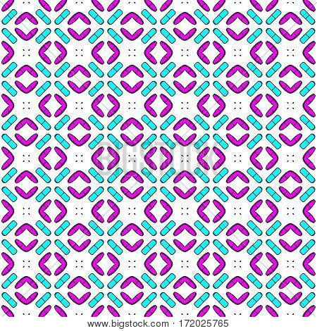 Pink and blue and white abstract background