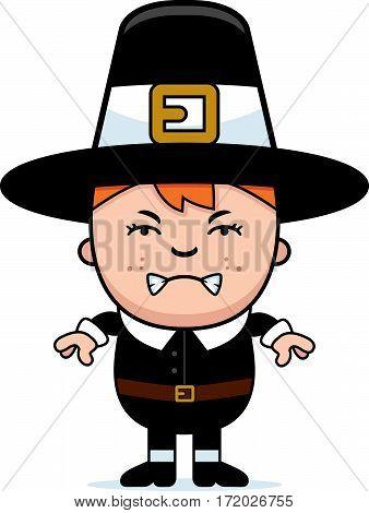 Angry Child Pilgrim