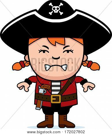 Angry Pirate Girl