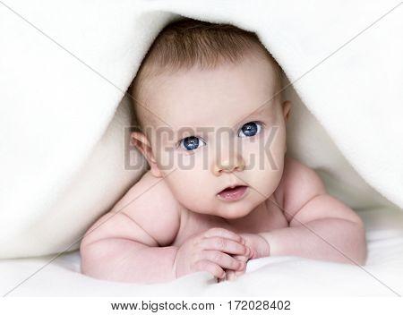 Baby Under Blanket