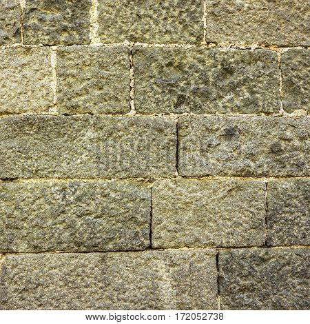Background - texture of stone wall. Mason work.
