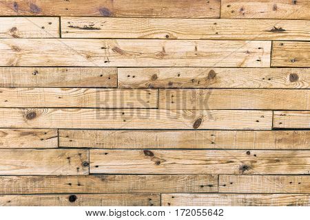 Old wooden wall as background or texture
