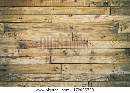 Vintage wooden wall as background or texture