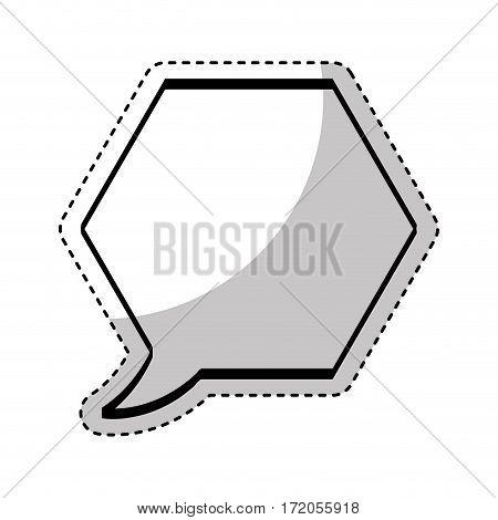 speech bubble message icon vector illustration design