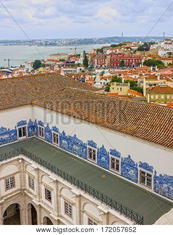 Lisbon, Portugal. Saint Vicente de Fora Monastery