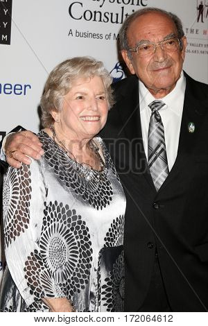 LOS ANGELES - NOV 1:  Wife, Marty Sklar at the The Walt Disney Family Museum 2nd Annual Fundraising Gala at Disney's Grand Californian Hotel & Spa on November 1, 2016 in Anaheim, CA