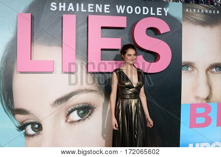 LOS ANGELES - FEB 7:  Shailene Woodley at the
