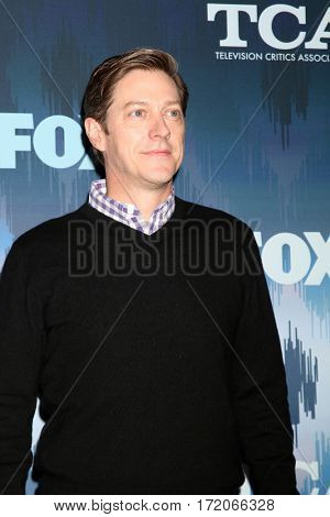 LOS ANGELES - JAN 11:  Kevin Rahm at the FOXTV TCA Winter 2017 All-Star Party at Langham Hotel on January 11, 2017 in Pasadena, CA