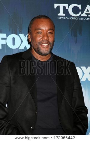 LOS ANGELES - JAN 11:  Lee Daniels at the FOXTV TCA Winter 2017 All-Star Party at Langham Hotel on January 11, 2017 in Pasadena, CA