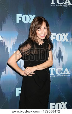 LOS ANGELES - JAN 11:  Kristen Schaal at the FOXTV TCA Winter 2017 All-Star Party at Langham Hotel on January 11, 2017 in Pasadena, CA