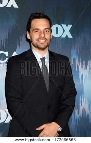LOS ANGELES - JAN 11:  Jake Johnson at the FOXTV TCA Winter 2017 All-Star Party at Langham Hotel on January 11, 2017 in Pasadena, CA
