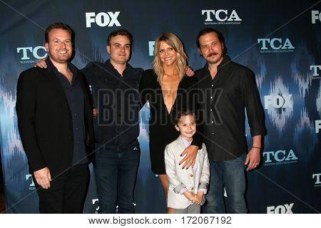 LOS ANGELES - JAN 11:  John Chernin, Dave Chernin, Kaitlin Olson, Jack Stanton, Scott MacArthur at the FOXTV TCA Winter 2017 All-Star Party at Langham Hotel on January 11, 2017 in Pasadena, CA