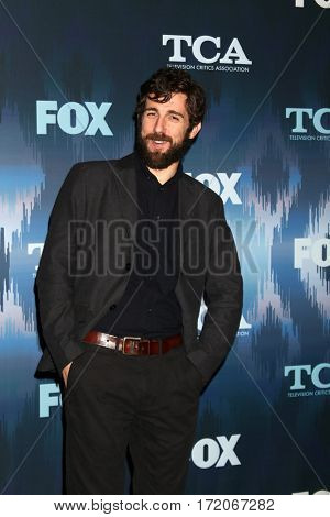 LOS ANGELES - JAN 11:  Simon Rich at the FOXTV TCA Winter 2017 All-Star Party at Langham Hotel on January 11, 2017 in Pasadena, CA