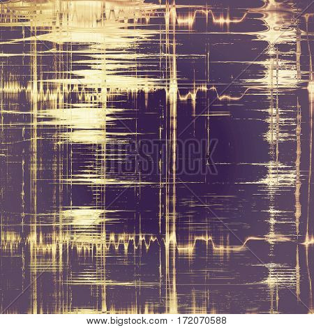 Colorful scratched background or grungy texture. With different color patterns: yellow (beige); brown; gray; purple (violet)