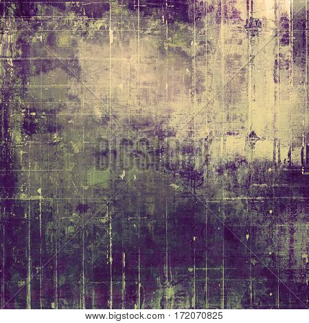 Art vintage texture for background in grunge style. With different color patterns: yellow (beige); gray; green; purple (violet)