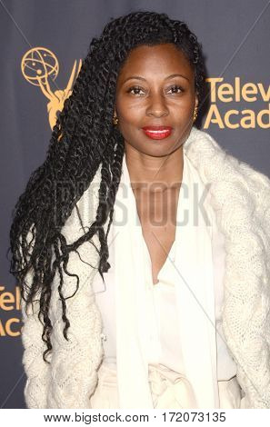 LOS ANGELES - FEB 16:  Fatima Robinson at the Whose Dance Is It Anyway? Event at the ATAS Saban Media Center on February 16, 2017 in North Hollywood, CA