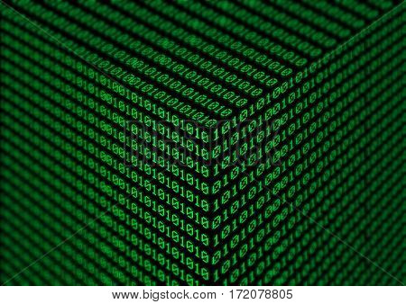 Binary Code Background