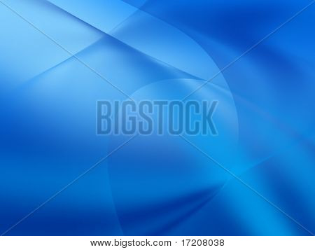 Abstract blue background, 3d rendering