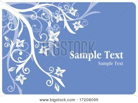 Floral design with copy space for your text