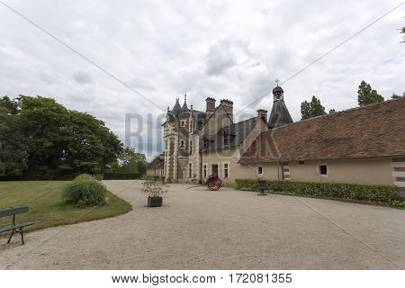 The Chateau Of Troussay, France