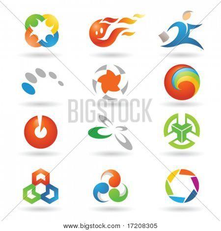 Set of vector design elements 2