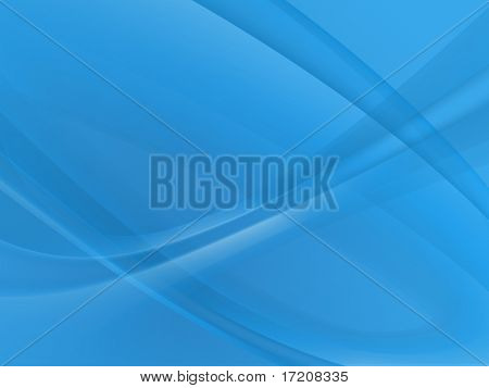 Abstract blue twirls background