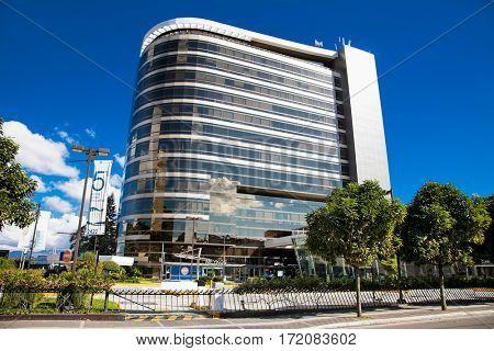 GUATEMALA CITY, GUATEMALA-DEC 25, 2015: Hospital in Guatemala city on Dec 25 2015. Guatemala.