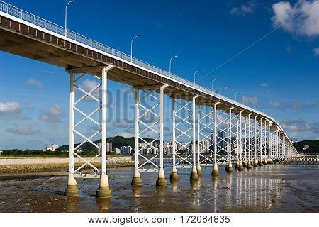 Macau-Taipa Bridge, Macau casino to Taipa Island