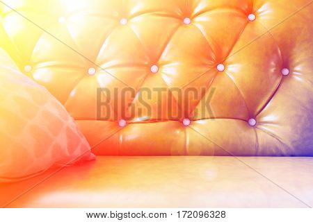 Upholstery leather pattern background with color filters