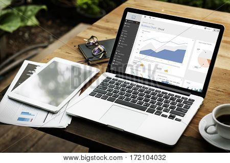 Business Chart Information Progress Statistics Profit