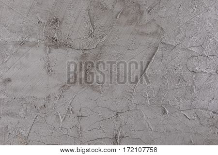 Gray brick and mortar wall texture background.
