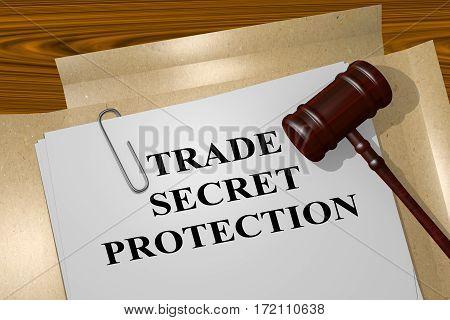 Trade Secret Protection - Legal Concept