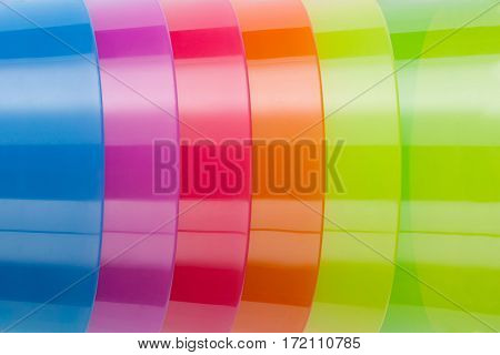Colorful abstract plastic background. Abstract plastic texture