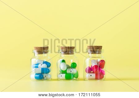 Supplement Capsules Or Drugs
