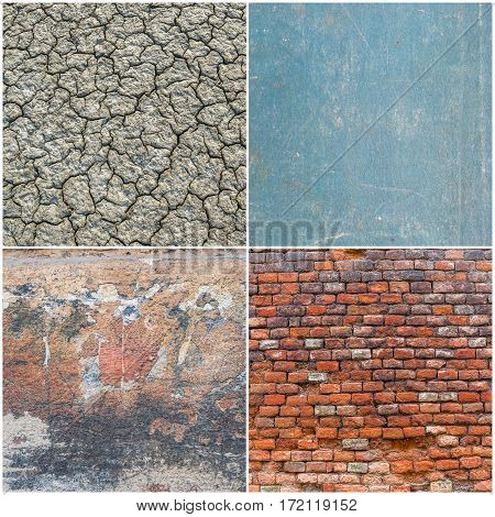 Set Of Different Textures