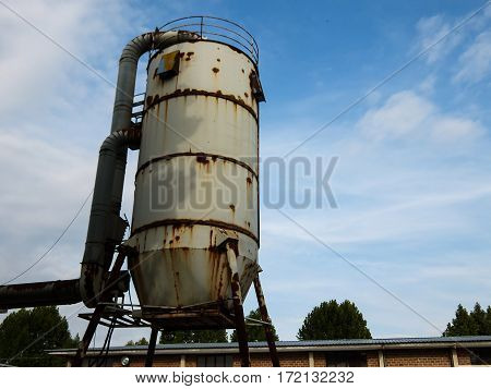 Steel Industrial Silo