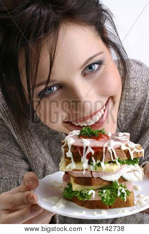 A Girl Proposes A Sandwich