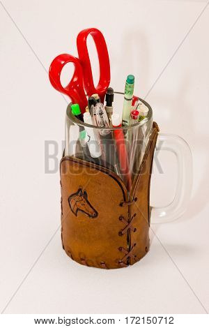 why did all these things end up in this mug?