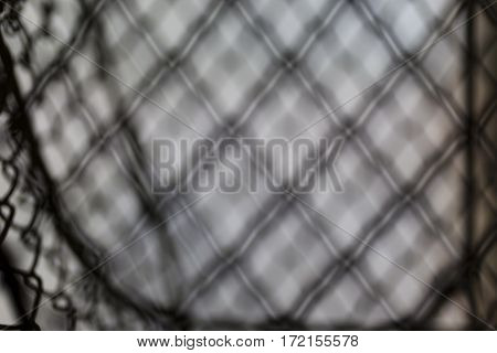 Blurred vague metal wire abstract background black and white