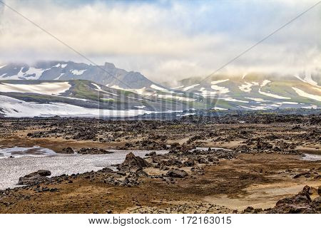 Nature Of Kamchatka. Landscapes And Magnificent Views Of The Kamchatka Peninsula