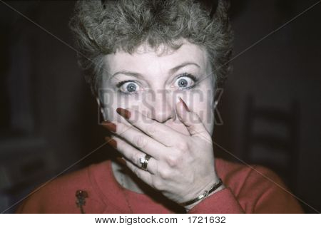 Surprised Woman  Gtg