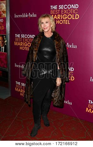 NEW YORK-MAR 3: Trudy Styler attends the premiere of