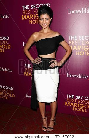 NEW YORK-MAR 3: Actress Tina Desai attends the premiere of