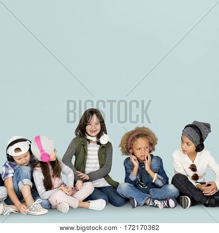 Studio People Model Shoot Kid Children