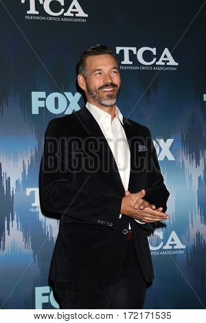 LOS ANGELES - JAN 11:  Eddie Cibrian at the FOXTV TCA Winter 2017 All-Star Party at Langham Hotel on January 11, 2017 in Pasadena, CA