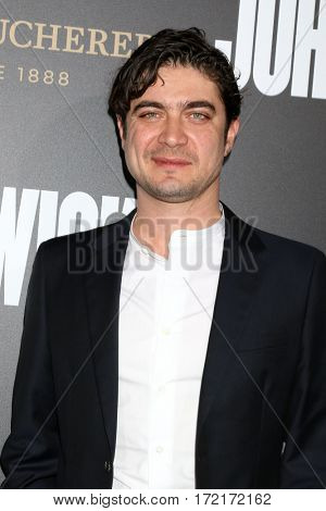 LOS ANGELES - JAN 30:  Riccardo Scamarcio at the
